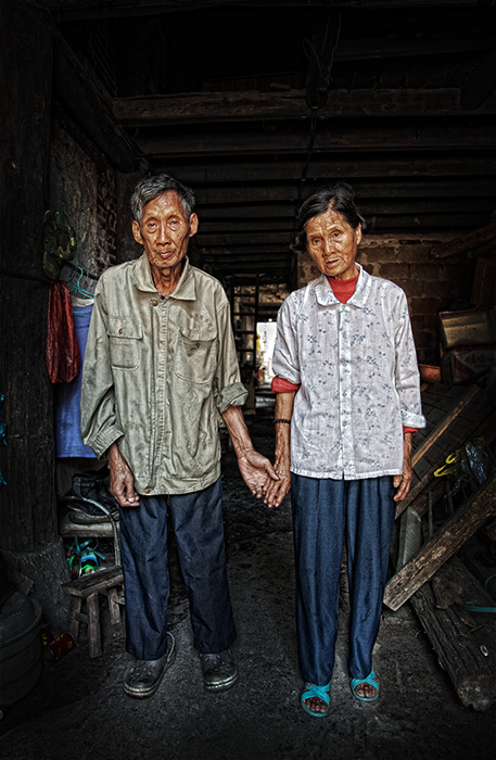 the way we were, portrait, old town, xing ping, guilin, china