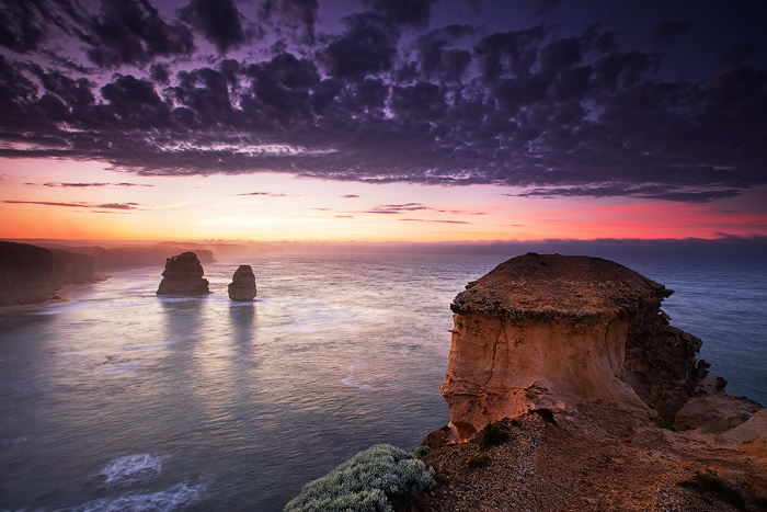 Early morning, Great Ocean Rd, Victoria, Australia.