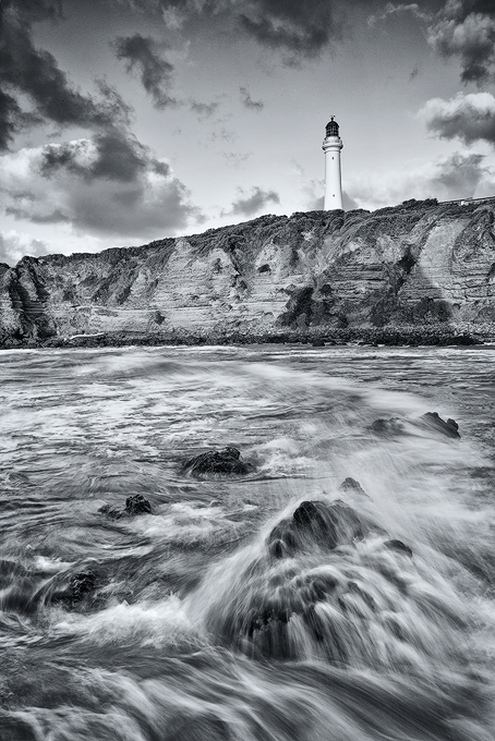 Lighthouse from the Sea, Great Ocean Rd, Victoria.