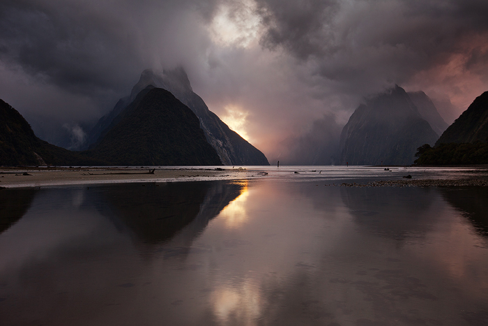 Milford Sound at it's best, New Zealand