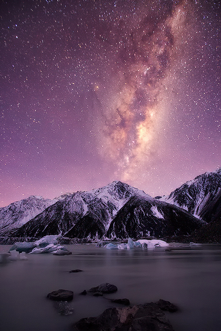 Mount Cook, South Island, New Zealand.
