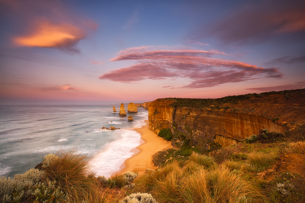 A beautiful morning at the 12 Apostles, Port Campbell. Photo © Darren J Bennett. All Rights Reserved.